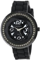 Rocawear Women's RL0125BK1-048 Stylish Bracelet Enamel Bezel Watch