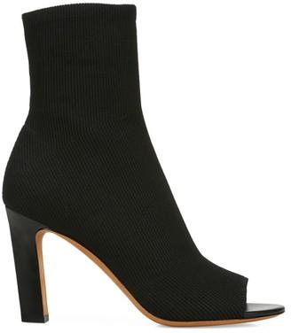 Vince Ezra 2 Peep-Toe Sock Boots