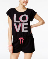 Material Girl Juniors' Active Graphic Romper