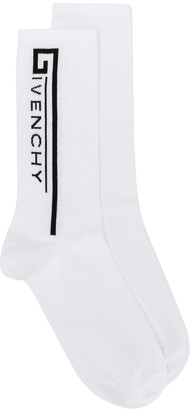 Givenchy logo knitted socks