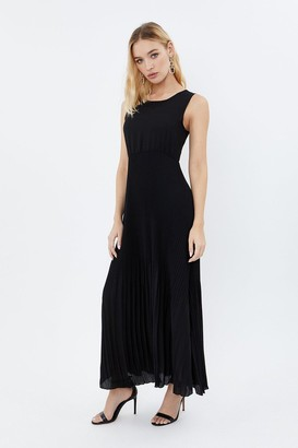 Coast Pleated Skirt Maxi Dress