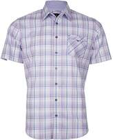 Jeff Banks Multi Check Slim Fit