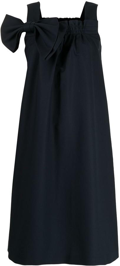 Dice Kayek Bow-Detail Dress