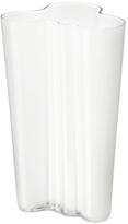 """Iittala Aalto Finlandia 8"""" White Vase"""