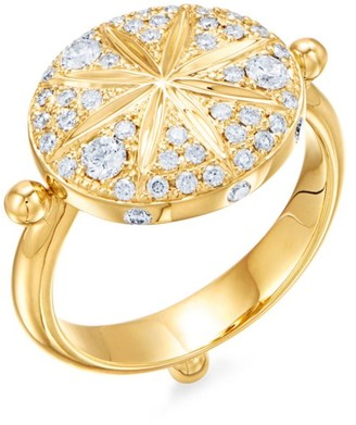 Temple St. Clair Celestial 18K Yellow Gold & Diamond Sorcerer Ring