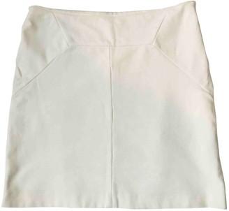 Versace White Cotton - elasthane Skirt for Women