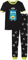Petit Lem Midnight Snack Monster Pajama - 2-Piece Set (Toddler & Little Boys)
