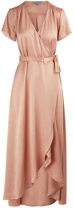 Maison Pere Maxi wrap dress