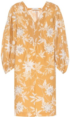 Schumacher Dorothee Delicate floral cotton minidress