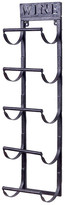 Welland Industries LLC 5 Bottle Wall Mounted Wine Rack