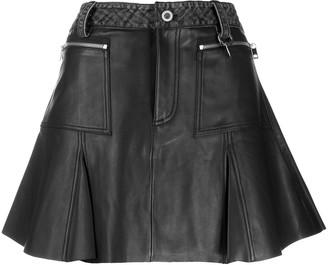 Diesel Flared Pleated Skirt