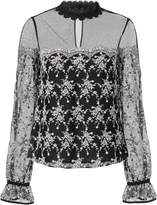 Exclusive for Intermix Amira Embroidered Blouse