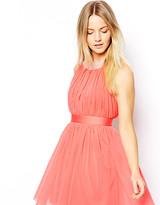 Asos Exclusive Embellished Strappy Back Halter Dress