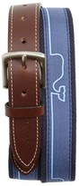 Vineyard Vines Men's Whaline Match Canvas Belt