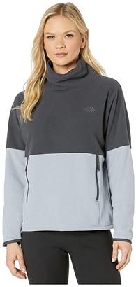 The North Face TKA Glacier Funnel-Neck Pullover (Mid Grey/Asphalt Grey) Women's Coat
