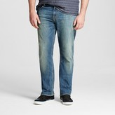 Mossimo Men's Big & Tall Straight Jeans Medium Vintage Wash