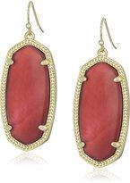 Kendra Scott Elle Hematite Drop Earrings