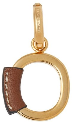 Burberry Leather-wrapped O Alphabet Charm