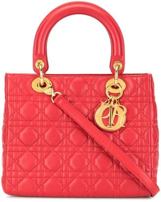 Christian Dior Pre Owned Lady Cannage 2way bag