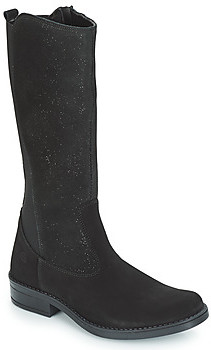 Citrouille et Compagnie JINNY girls's High Boots in Black