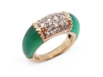 Van Cleef & Arpels Philippine Green Yellow gold Rings