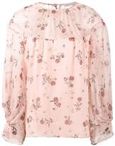 Emilia Wickstead Lauren rose print blouse