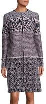 Giambattista Valli Tweed Macrame Jacket