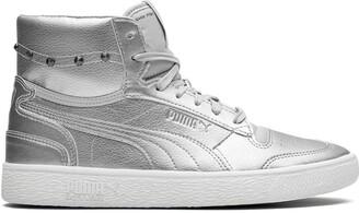 Puma x Ralph Sampson Mid-Glitz sneakers