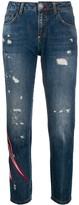 Philipp Plein Space distressed boyfriend jeans