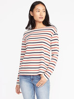Old Navy Relaxed Jersey-Knit Boat-Neck Tee for Women