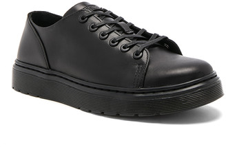 Dr. Martens Dante 6 Eye Leather Shoes in Black | FWRD