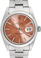 Rolex Men's Vintage Stainless Steel Date Watch, 34mm
