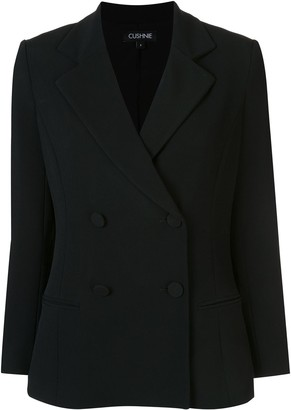 Cushnie fitted double-breasted blazer