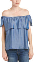 T-Bags LosAngeles tbagslosangeles Tbagslosangeles Off-The-Shoulder Top