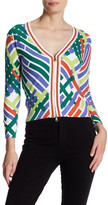 Tracy Reese Printed Cardigan