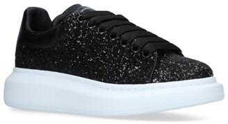 Alexander McQueen Glitter Runway Sneakers