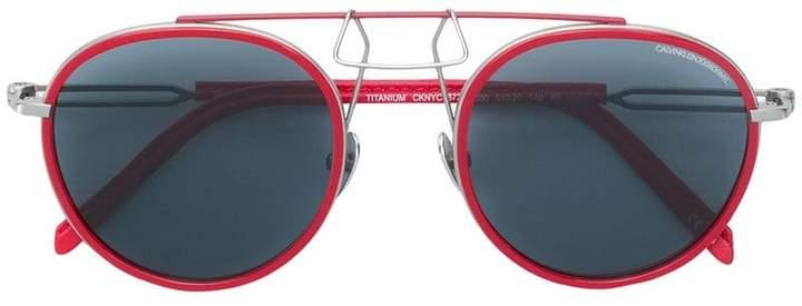 50468203ffcc Calvin Klein Aviator Sunglasses - ShopStyle