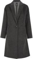 Madewell Monsieur Wool-blend Felt Coat - Gray