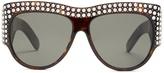 Gucci Crystal-encrusted acetate sunglasses