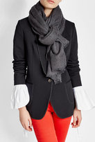 Brunello Cucinelli Scarf with Alpaca, Mohair and Cashmere