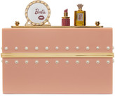 Charlotte Olympia Pink Barbie Edition barbie World Clutch