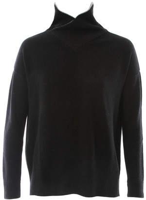 Singer22 SLOUCH CROSS OVER TURTLENECK SWEATER