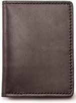 Filson Men's Leather Passport Case - Brown