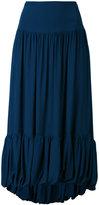 Sonia Rykiel asymmetric puff ball skirt - women - Silk - 38