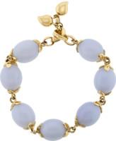 Tamara Comolli Large Blue Chalcedony Coconut Link Bracelet