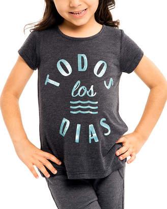 Sol Angeles Girls' Todos Los Dias T-Shirt
