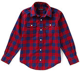 Brooks Brothers Little/Big Boys 4-20 Plaid Flannel Shirt