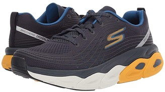 Skechers Max Cushion - 54440 (Navy/Yellow) Men's Shoes