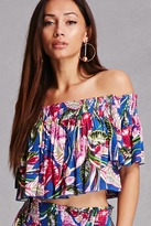 Forever 21 FOREVER 21+ Boho Me Off-the-Shoulder Top