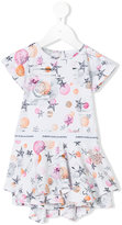 John Galliano star print dress - kids - Cotton/Spandex/Elastane - 12 mth